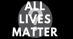 Every single life matters. 2
