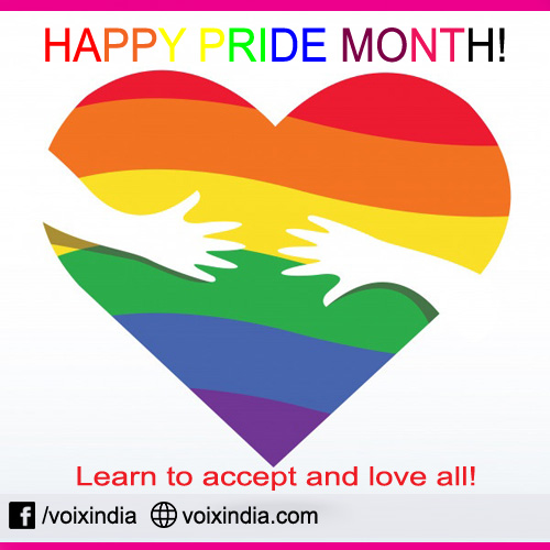 Happy pride month- lGBT community