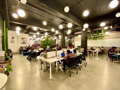 The hub coworking space