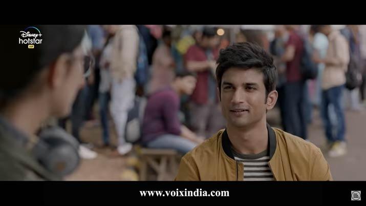 Dil Bechara cast Sushant singh rajput voixindia
