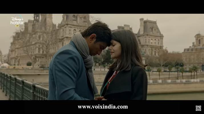 Dil bechara romanctic scenes voixindia