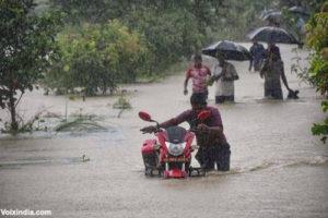 assam and bihar flood images news voixindia