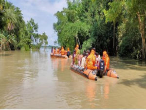 Assam and Bihar floods causing major causes to the people, amid covid pandemic 4
