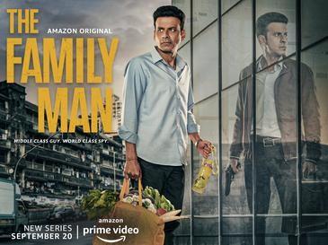 The Family Man Season 2web series poster