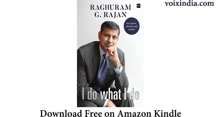 I do what I do Raghuram Rajan pdf free download voixindia