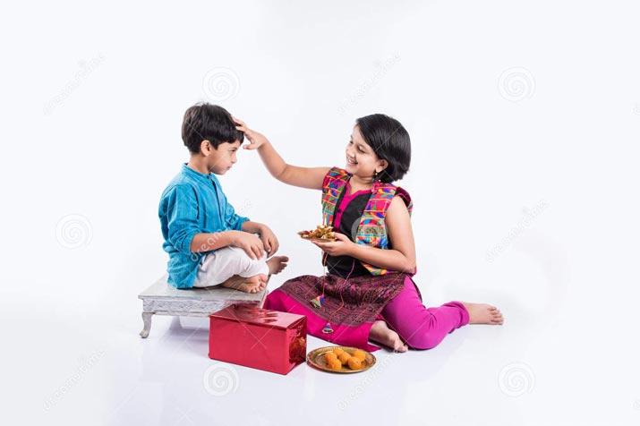 Raksha Bandhan images bond between a brother and her sister