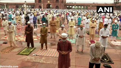 Eid-ul-adha namaz offered at Jama Masjid